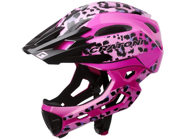 Cratoni C-Maniac Pro MTB Helmet leo/pink gloss